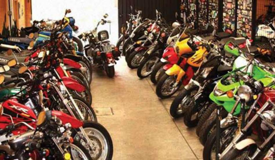 Hospedagem de motos
