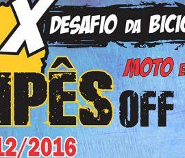 10º Desafio da Bicicletinha, 10/12/2016!